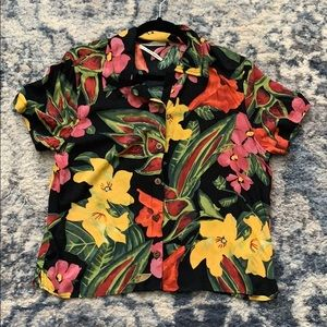 Urban Outfitters Tropical Button Down